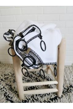 Rideau en lin Letia - Blanc...