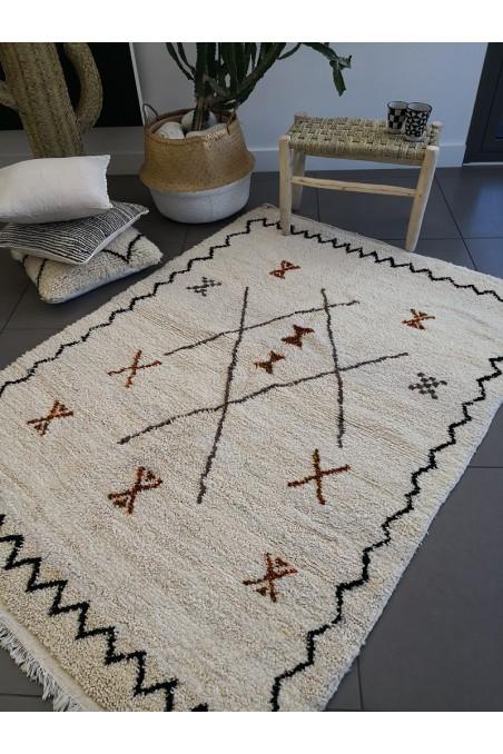 Tapis azilal - tapis berbere - tapis béni ouarain - tapis laine - tapis marocain - wkhdeco