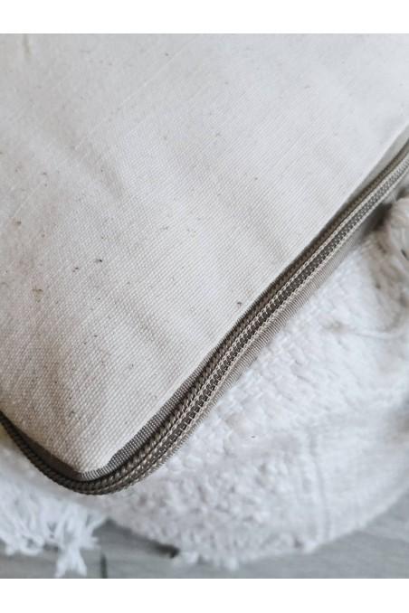 Pouf berbère Handira - pouf laine - pouf marocain