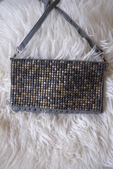 sac à main cuir - sac cuir italie - sac gris - wkhdeco