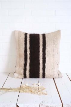 Coussin Kilim berbere laine wkhdeco