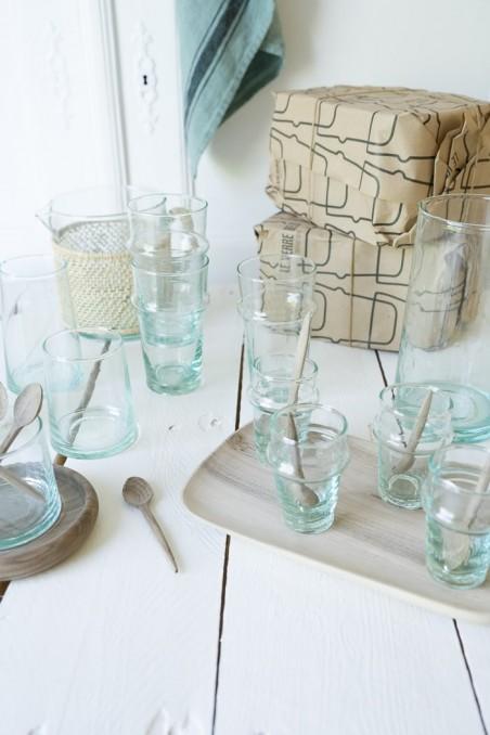 Le verre beldi - Verre beldi mini bok authentique - vaisselle beldi - vaisselle maroc - wkhdeco