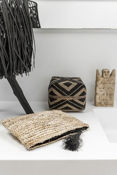 Pochette en raphia - sac en raphia - pochette bali - sac bali - bazar bizar - wkhdeco