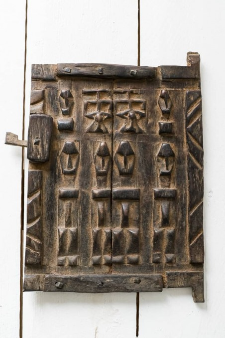 Porte bois dogon mali - porte mil - porte du mali - porte dogon - wkhdeco