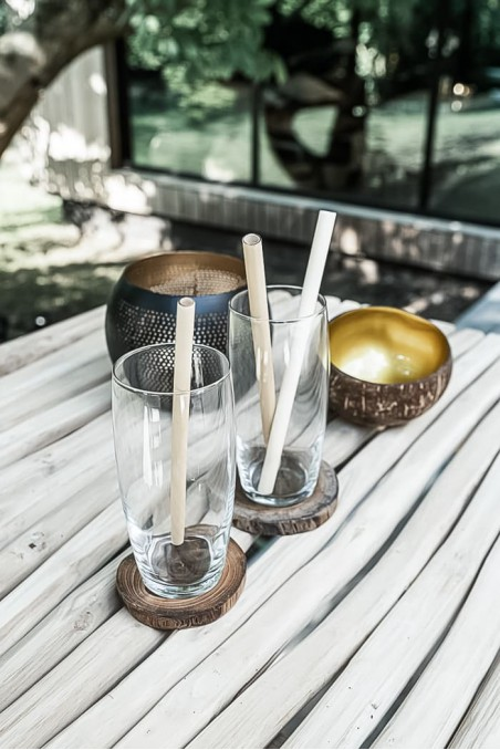 Paille bambou - paille réutilisable - paille nettoyable - bazar bizar - wkhdeco