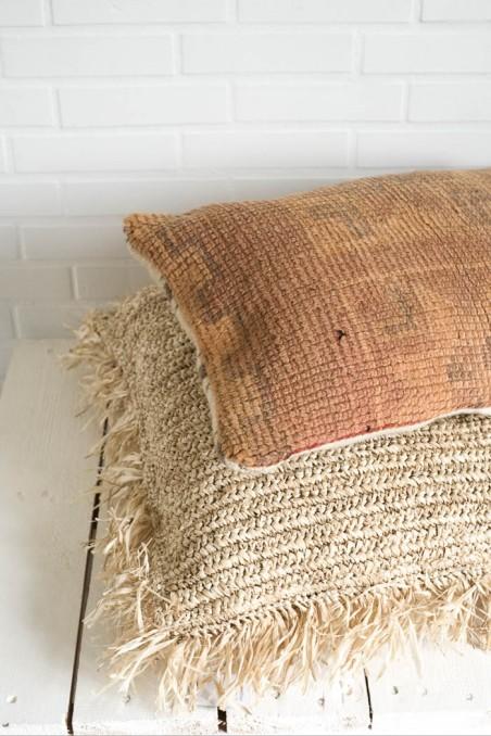 Coussin berbere boujaad vintage  ancien wkh.
