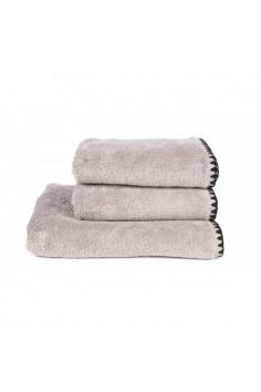 Serviette de toilette harmony issey lin - serviette éponge