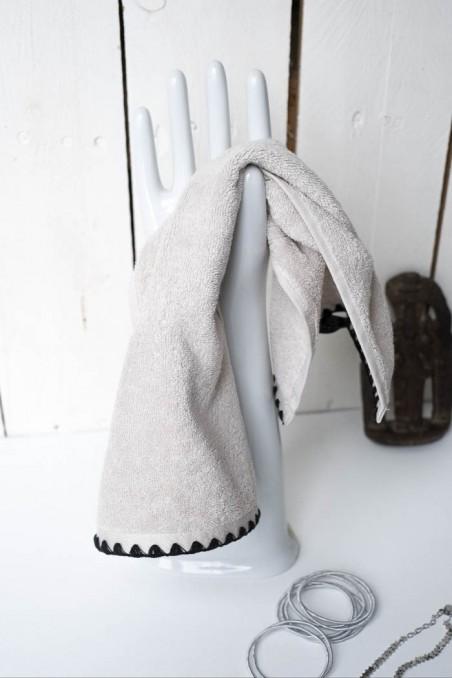 Serviette eponge issey harmony textile - wkhdeco