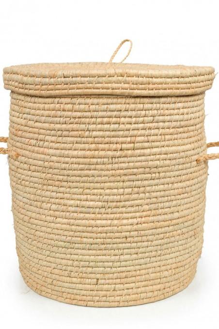 Panier à linge avec couvercle - panière à linge - corbeille à linge - grand panier à linge - bazar bizar - wkhdeco