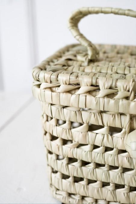 Valisette vanity valise paille maroc wkhdeco