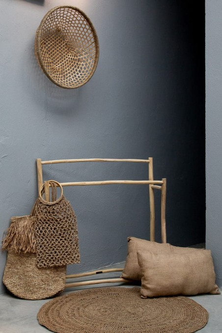 Porte serviette en bois - tulum - bazar bizar - wkhdeco