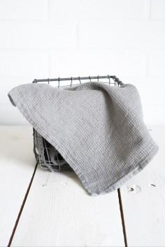 Essuie main harmony java béton - torchon lin - essuie main lin - harmony textile - wkhdeco