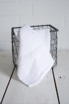 Essuie main harmony java blanc - torchon lin - essuie main lin - harmony textile - wkhdeco