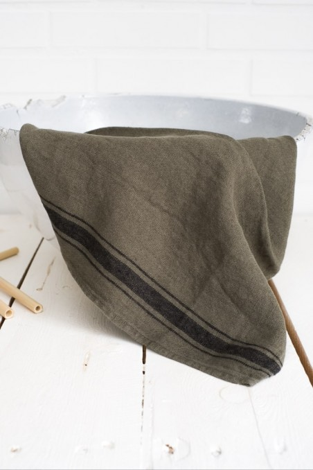torchon olbia harmony - torchon lin - torchon cuisine - linge de cuisine lin - wkhdeco -