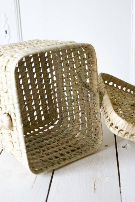 Vanity paille - valisette paille - valise paille - valise Fes - wkhdeco
