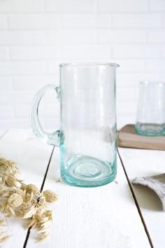 Carafe beldi authentique - vraie carafe beldi - pichet - beldi Maroc - vaisselle beldi - le verre beldi - wkhdeco