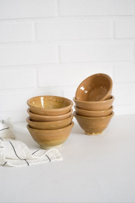 Bol en céramique peint - bol céramique fès - bol marocain - poterie  - wkhdeco