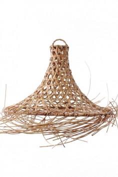 Suspension rotin naturel bali - luminaire - bali - bazar bizar - wkhdeco