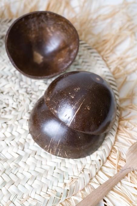 Bol en noix de coco - bol bali - deco de bali - Madam Stoltz - wkhdeco