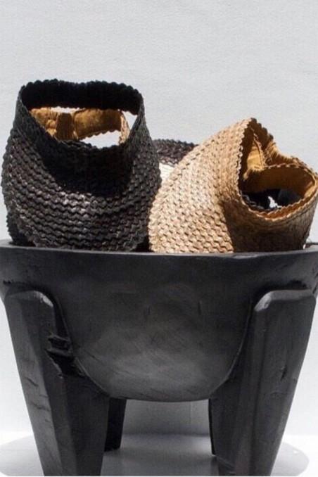 casquette balinaise - visière - casquette bambou - bazar bizar - wkhdeco