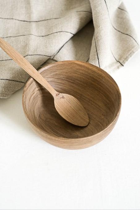 Bol en noyer - bol en bois - ramequin bois - vaisselle bois - wkhdeco