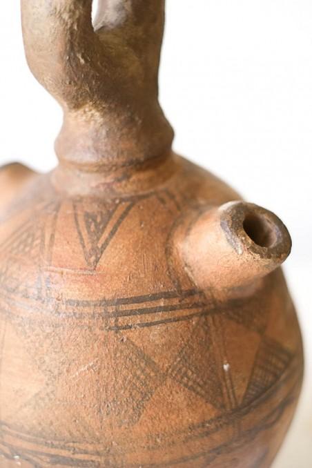 poterie cruche berbere touareg ancienne vintage - wkhdeco