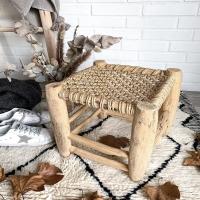 Nouveauté ✨ Le joli tabouret en bois de laurier et en corde tressée façon macramé est disponible sur le e-shop  On aime ce côté brut et authentique   Belle soirée ✨  #wkhdeco #inspirationdeco #tabouret #tabouretbeldi #tabouretmarocain #tabouretbois #corde #bohemedecor #ideedecoration #ideedecor #inspideco #laminutedeco #decomaison #instadecoration #interior123 #scandiboho #decoscandinave #scandinave #instahome #interior2you #interior4all #decosalon #decorationsalon #tapisberbere