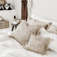 Cocon naturel et souffle d'ailleurs dans cette jolie chambre aux couleurs intemporelles !  . Retrouvez les coussins 100% raphia sur le e-shop (voir le lien appuyez sur la photo ou lien dans la bio)  . .  #wkhdeco #wkhdecoshop #bazarbizar #chambre #bedroominspo #gypsetliving #interior4all #gypsydecor #instadeco #instadecoration #boheme #bohodecor #interiordesign #interior125 #maisonetobjet2020 #ideedeco #naturalhome #decorationinterieur #deco