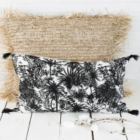 Le joli coussin Mahé est en ligne sur le shop wkhdecoshop.fr ✌🏽  Qui osera faire swinguer le sapin 🎄 avec les palmiers 🌴 ???   ♡ Douce soirée ♡   #wkhdeco #raphia #scandinavehome #déco #coussinraphia  #coussinlin #decorationbohemechic #boheme #hyggedeco #decoethniquechic #décorationscandinave #matièresnaturelles #maisonsdumonde #harmonytextile #decoaddicts #lovedeco #decoexotique  @harmonytextile